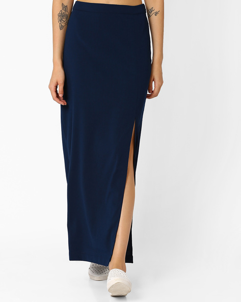 A-line Dress With Embellished Neck By AJIO ( Teal )