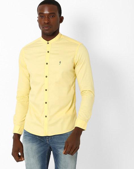 Mandarin Collar Shirt By Killer ( Assorted ) - 440722812004