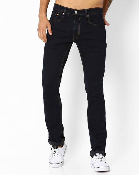 501 Original Fit Stretch Jeans By LEVIS ( Blue )