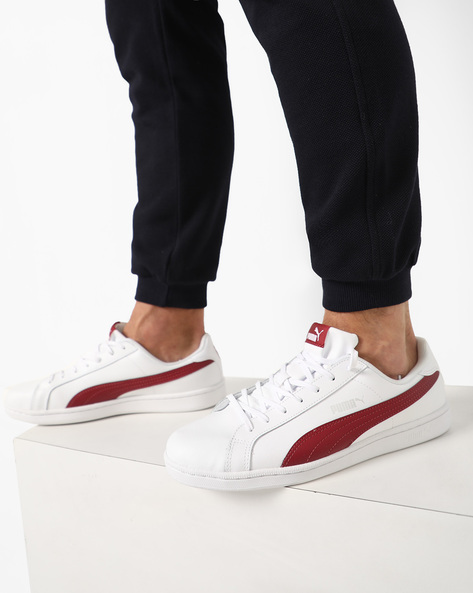 Lace-Up Sneakers By Puma ( White )