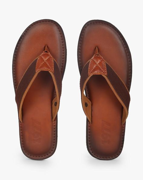 Thong-Style Flip-Flops By Estd.1977 ( Tan )