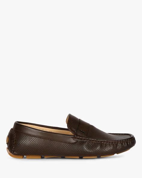 Sage II Perforated Moccasins By Spunk ( Brown )