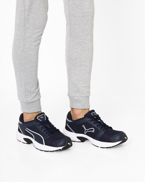 Splendor DP Panelled Casual Shoes By Puma ( Blue )