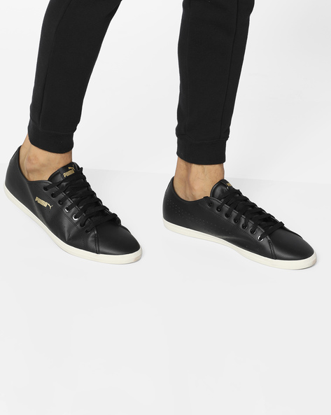 Casual Shoes With Lace-Up Fastening By Puma ( Blkwht )