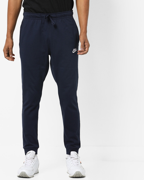 Joggers With Drawstring Fastening By NIKE ( Blue )