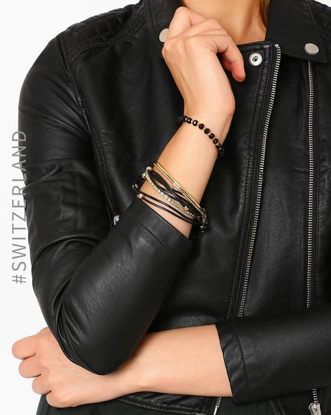 Set Of 3 Bracelets By TALLY WEiJL ( Gold )