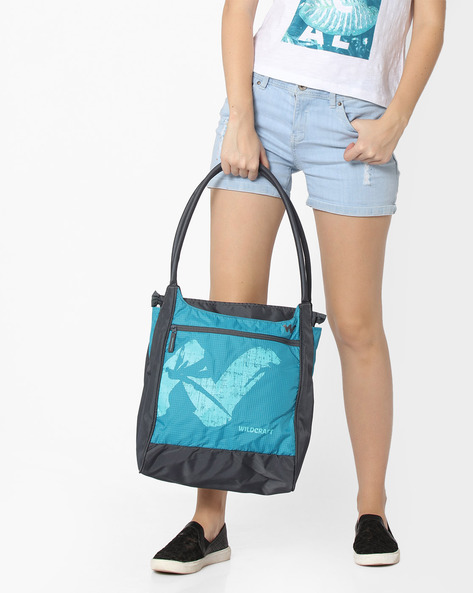 Printed Hobo Bag By Wildcraft ( Blue )