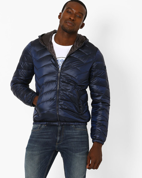 Slim Fit Padded Quilted Jacket By GAS ( 0463 )