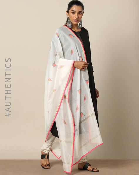INDI WOMEN DUPATTAS, MULTI, FS By Indie Picks ( Multi )