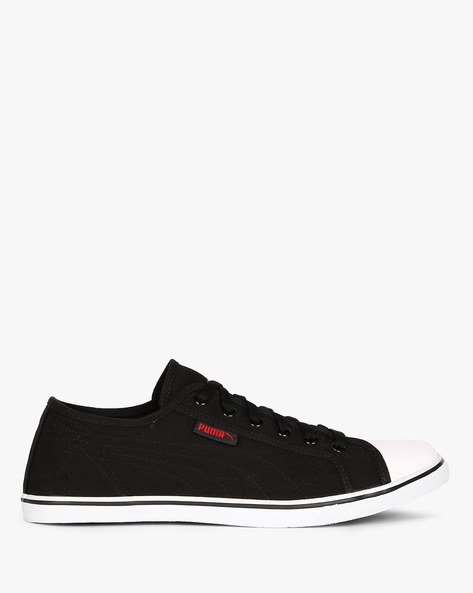 Streetballer Low-Top Casual Shoes By Puma ( Black )