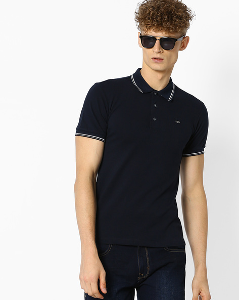 Slim Fit Polo T-shirt By GAS ( 0194 )