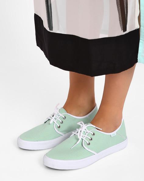 Gossamer Lace-up Espadrille Shoes By Vans ( Multi )