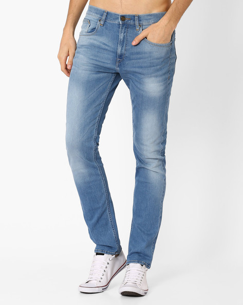 Bruce Skinny Fit Jeans By Lee ( Lightblue )