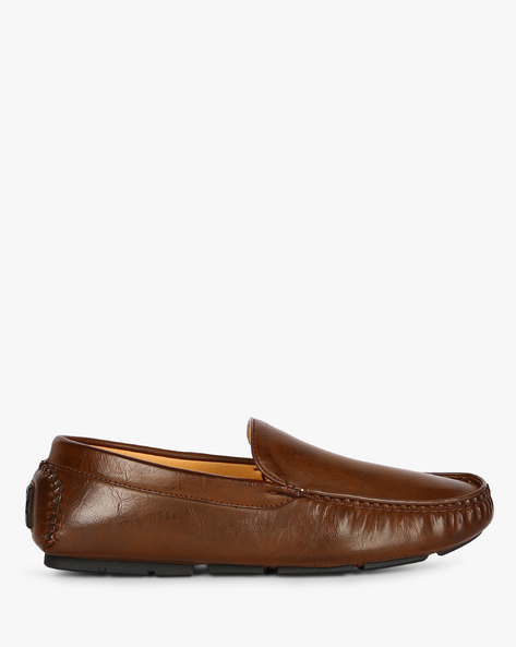 Felix Textured Moccasins By Spunk ( Brown )
