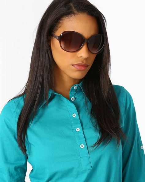 UV Protected Oversized Sunglasses By Joe Black ( Multi )