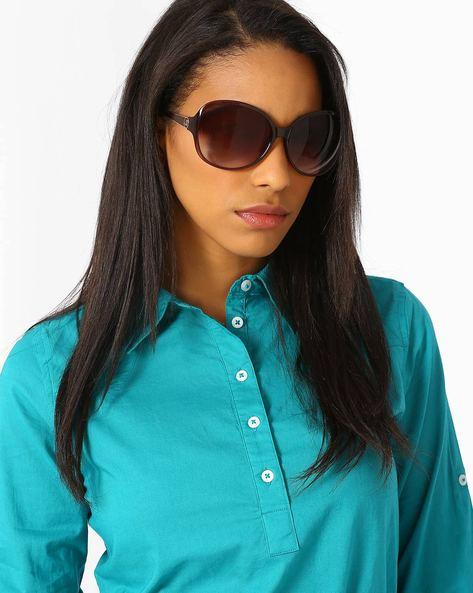 UV Protected Oversized Sunglasses By Joe Black ( Multi )