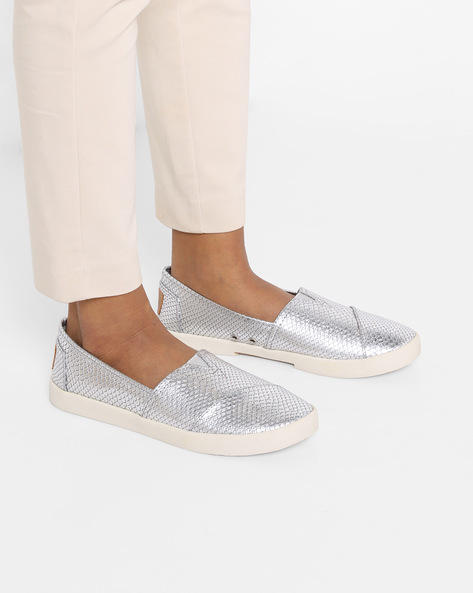 Textured Slip-On Sneakers By STEVE MADDEN ( 41 )