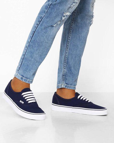 Classics Casual Shoes By Vans ( Blue )