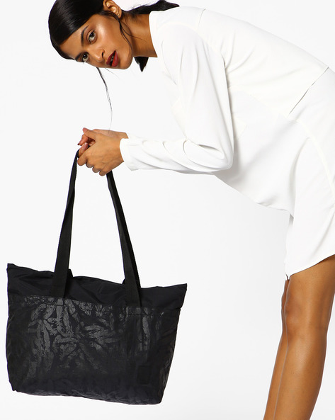 Printed Shoulder Bag By Puma ( Black )