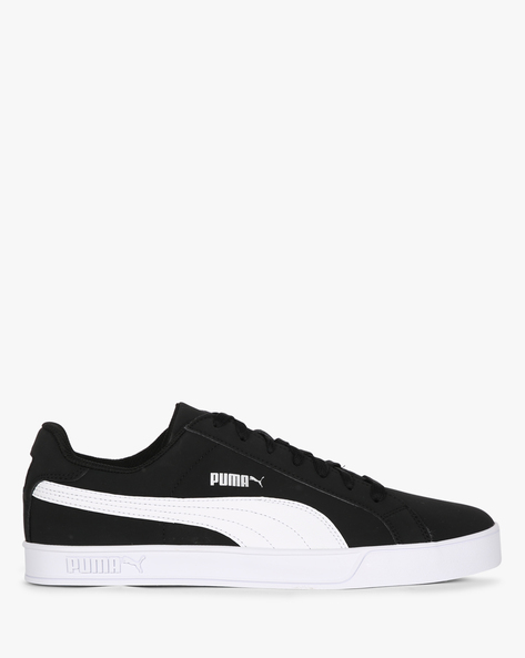 Puma Smash Vulc Casual Shoes By Puma ( Black )