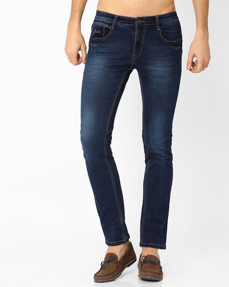 Lucifer Slim Fit Jeans By SIN ( Indigo ) - 460027264005