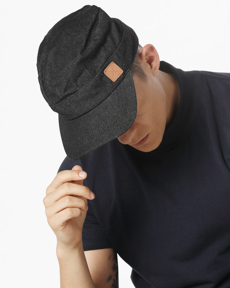 Denim Cap With Signature Branding By WRANGLER ( Darkbrown )