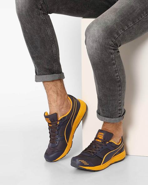 Harbour Fashion Running Shoes By Puma ( Blue )
