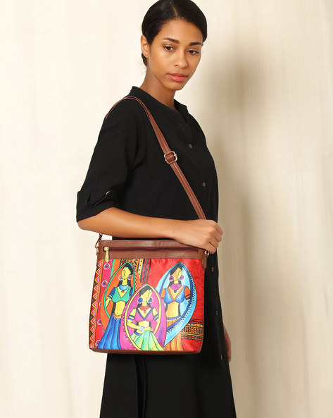 Printed Sling Bag By All Things Sundar ( Multi )