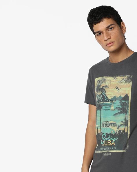 Santiago De Cuba Print T-shirt By Jack & Jones ( Multi )