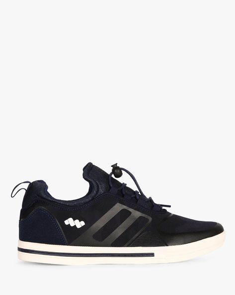 Sneakers With Toggle Closure By Spunk ( Navy )