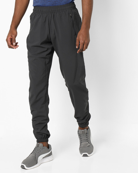 Joggers With Elasticated Waistband By PERFORMAX ( Charcoal )