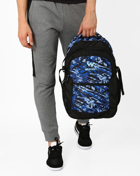Camo 6 Backpack By Wildcraft ( Blue )