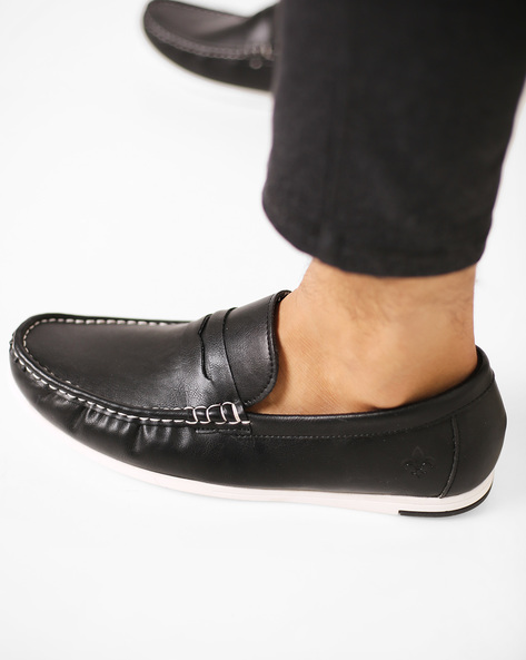 Slip-On Casual Shoes By Bond Street By Red Tape ( Black )