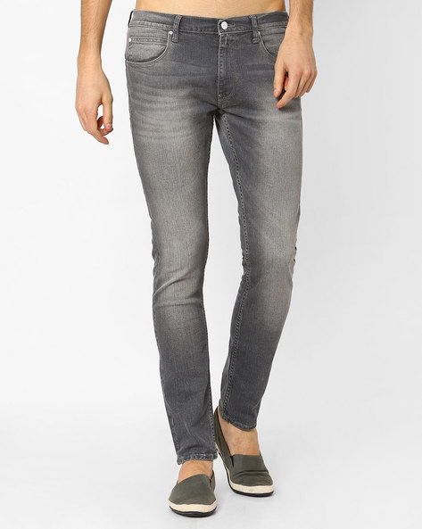 Powell Slim Fit Jeans By Lee ( Gray )