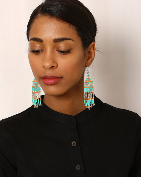 Beaded Drop-Earrings By Indie Picks ( Multi ) - 460042549001