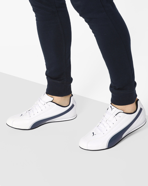 Wirko XC 3 DP Lace-Up Sneakers By Puma ( White )