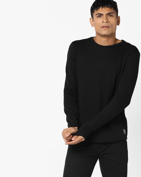 Panelled Crew-Neck Sweatshirt By GAS ( 200 )