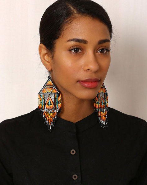 Beaded Drop-Earrings By Indie Picks ( Multi ) - 460042539001
