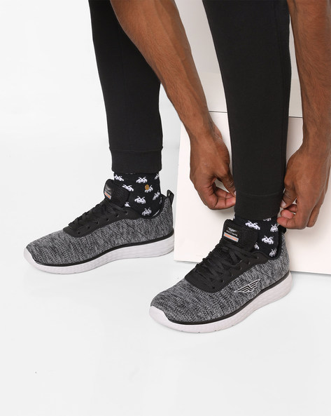 Athleisure Sports Range Running Shoes By RED TAPE ( Black )