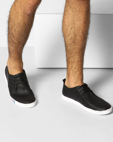 Sneakers With Perforations By Modello Domani ( Black )