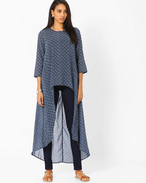 Printed High-Low Maxi Top By RIDRESS ( Multi )