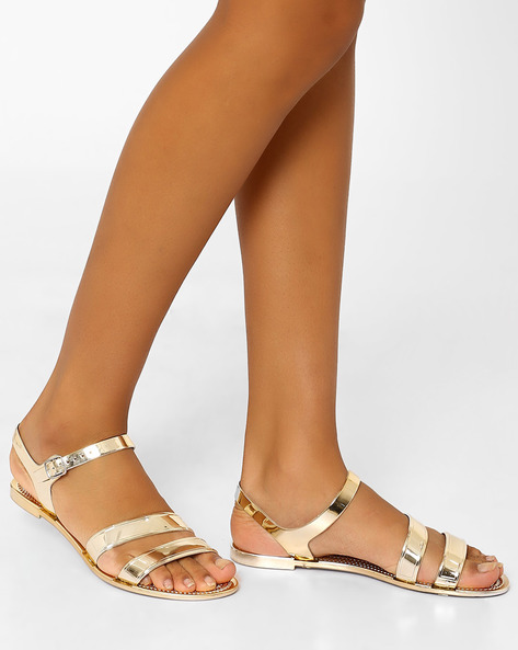 Haidee Flats With Buckle Closure By STEVE MADDEN ( 45 )