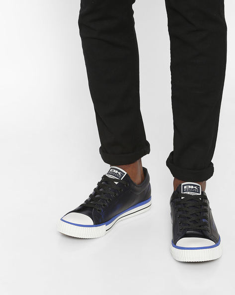 Master Lo Low-Top Casual Shoes By British Knights ( Black )