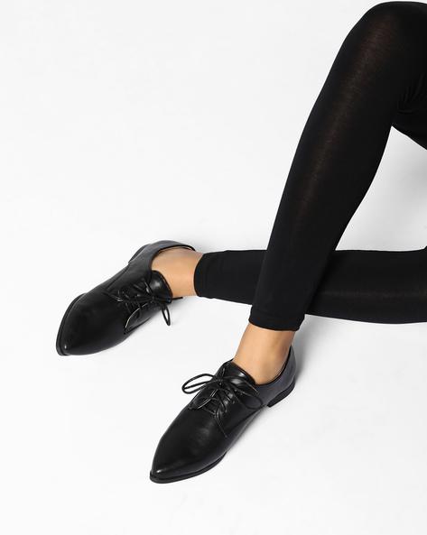 Formal Oxford Shoes By AJIO ( Black )