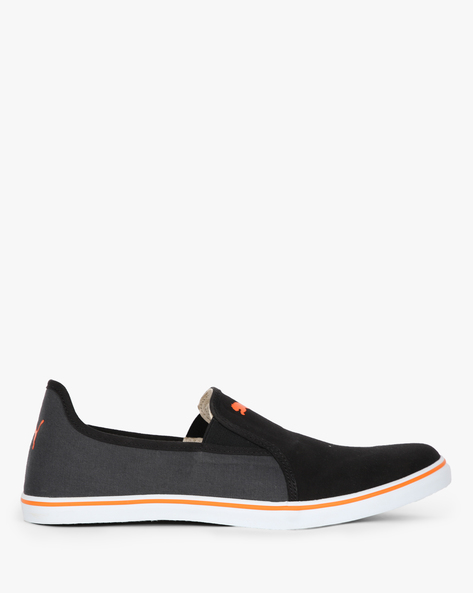 Gray NU IDP Slip-On Casual Shoes By Puma ( Black )