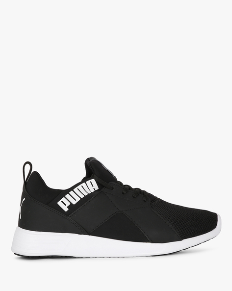 Zod Runner IDP Lace-Up Sports Shoes By Puma ( Black )