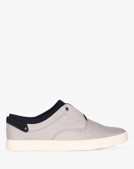 Slip-On Sneakers With Extended Tongue By Nuboy ( Grey )