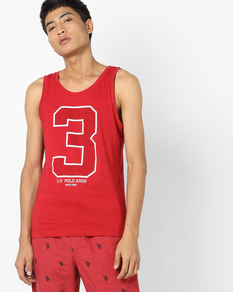 Numerical Print Fashion Vest By U.S. Polo Assn. ( Assorted )