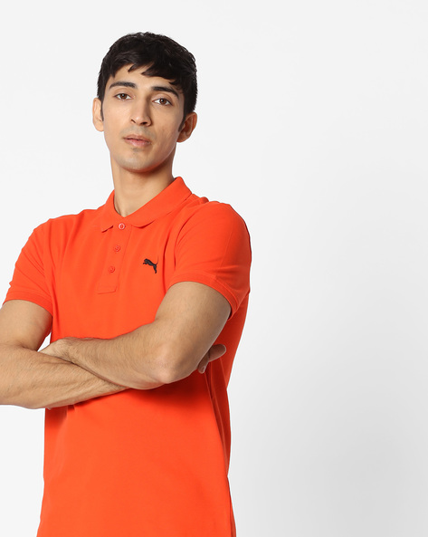 Short-Sleeve PoloT-shirt By Puma ( Red )