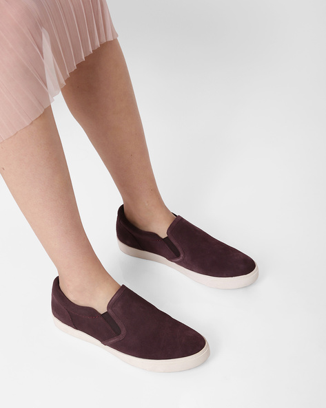 Glove Puppet Suede Slip-On Casual Shoes By CLARKS ( Multi )